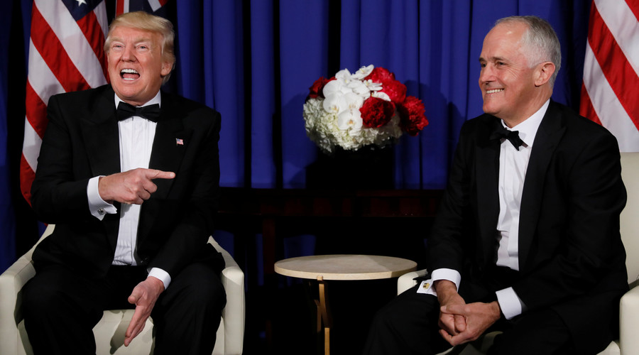 'The Donald & I are winning': Leak reveals Australian PM's roasting of Trump (AUDIO)