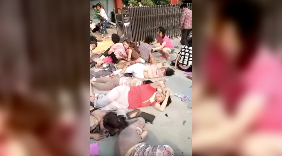 8 dead, 65 injured after explosion strikes kindergarten in eastern China (GRAPHIC PHOTO)