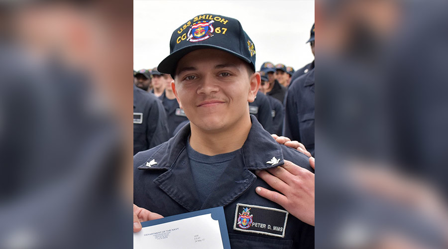 Navy sailor presumed overboard found hiding on ship