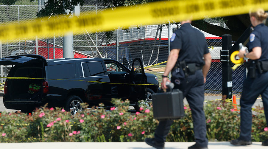 Alexandria baseball shooting: 2 victims still critical, FBI has shooter's phone, computer & guns