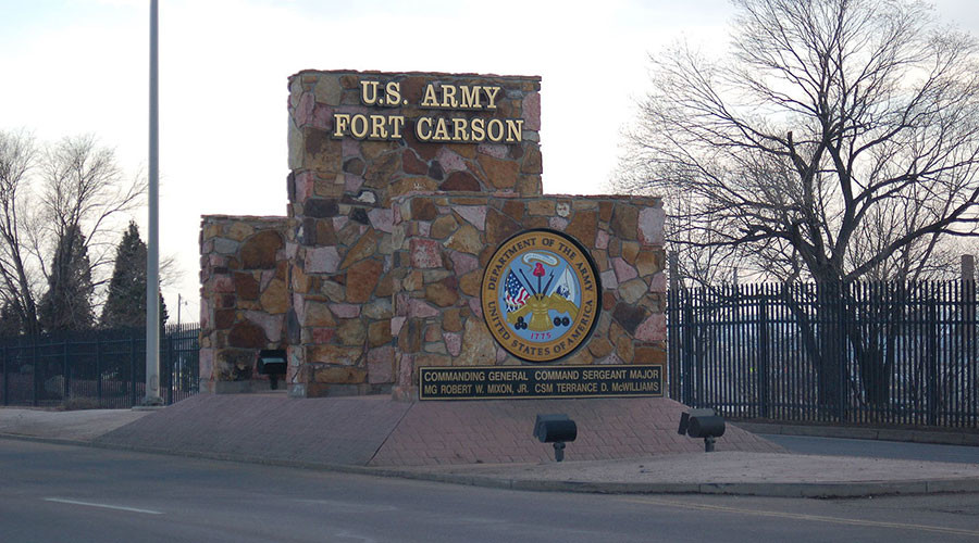 1 person shot, wounded at southern Colorado Army post