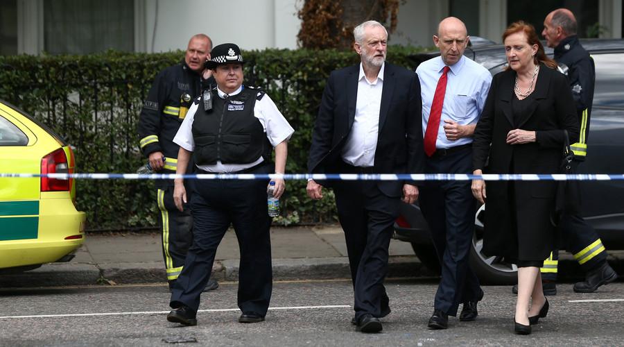 Jeremy Corbyn: Give empty luxury properties to the Grenfell fire homeless