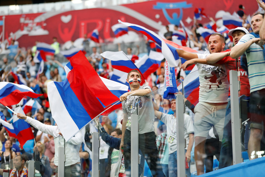 Ballet, pop stars & folk dances as Russian Federation  welcomes FIFA Confederations Cup