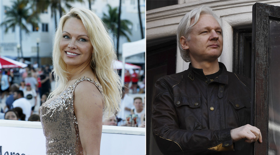 Pamela Anderson explains why she finds Julian Assange to be so sexy