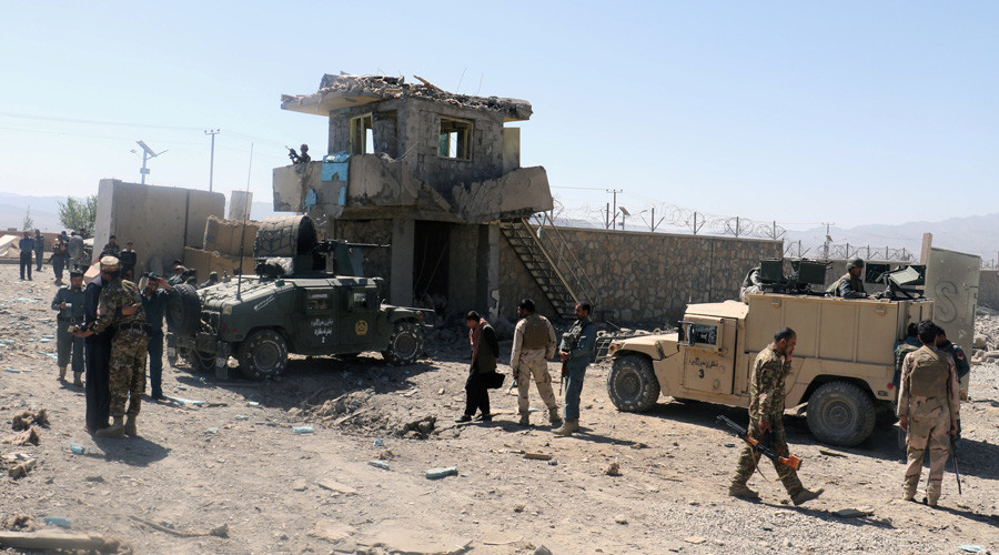 At least 5 killed, dozens wounded as Taliban storm police HQ in Afghanistan