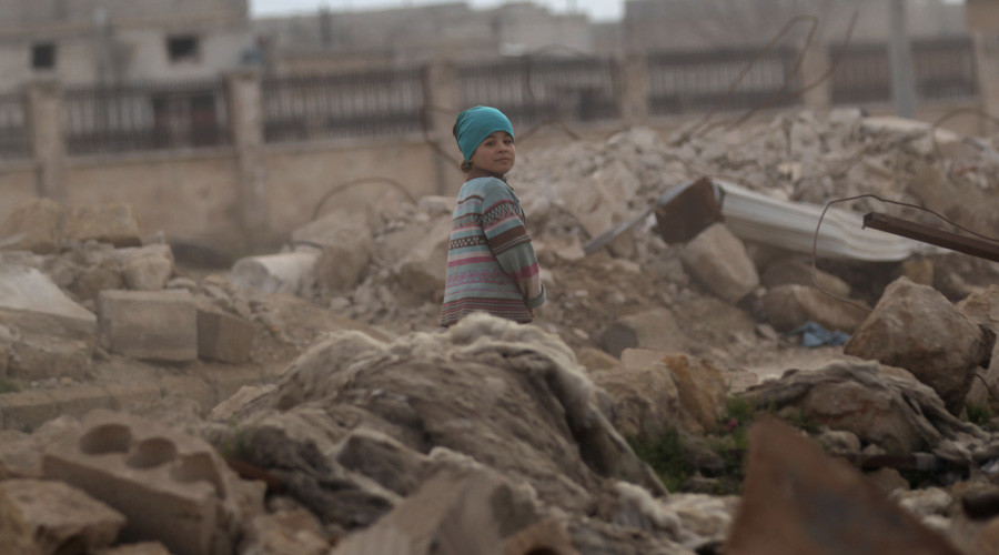 Exploitation of children in propaganda war against Syria continues