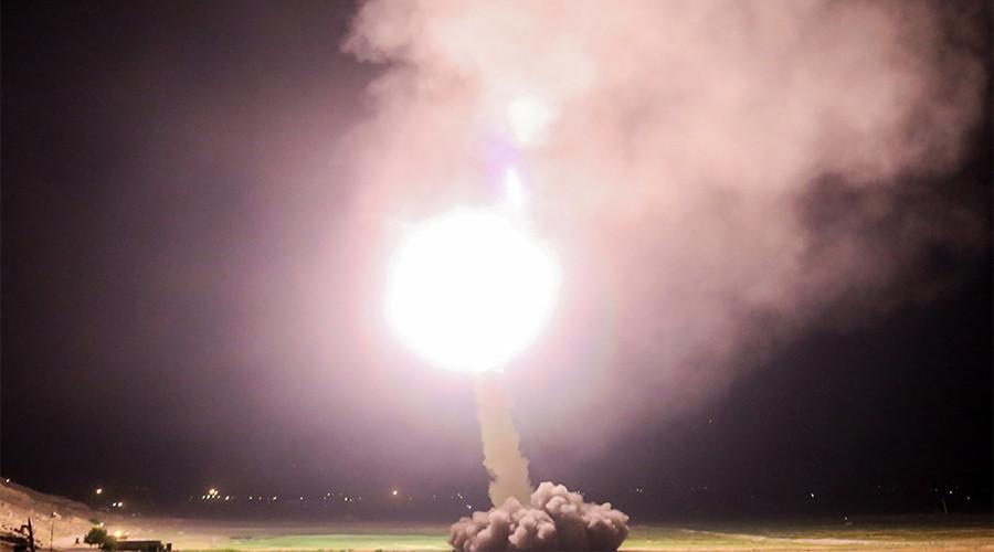United States warplane blasts Syrian drone from sky