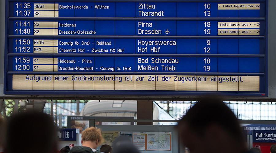 Arson attacks disrupt German railways, police suspect anti-G20 activists