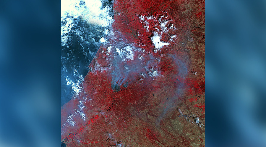 Full extent of Portugal's wildfire that killed 62 as seen from space