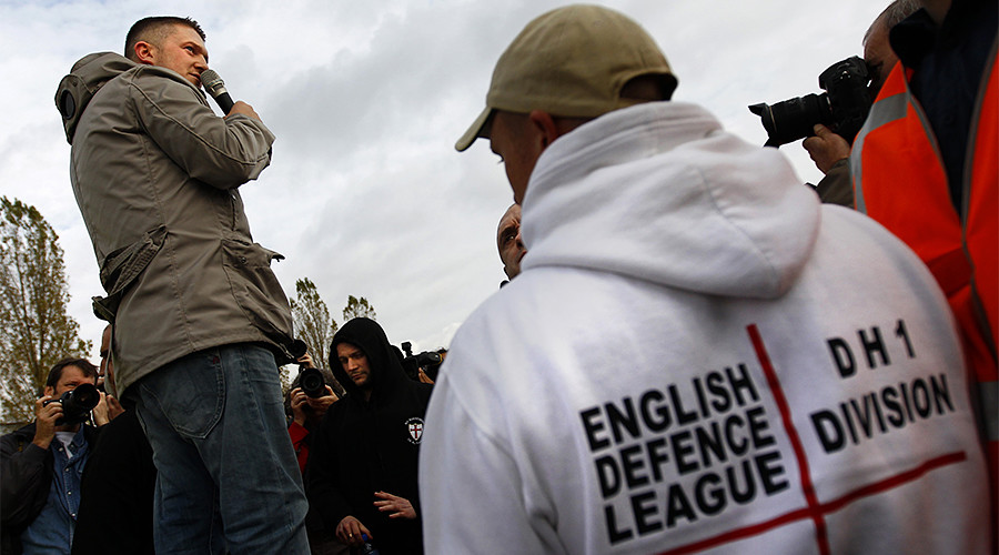 Finsbury attack interviewing edl founder tommy robinson for Lampen reuter