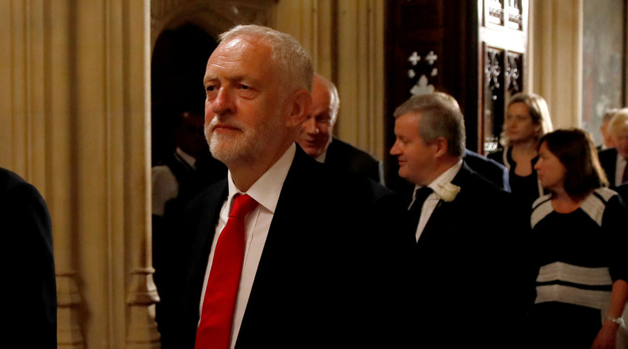 Corbyn attacks 'government without a majority' for 'thin gruel' Queen's Speech