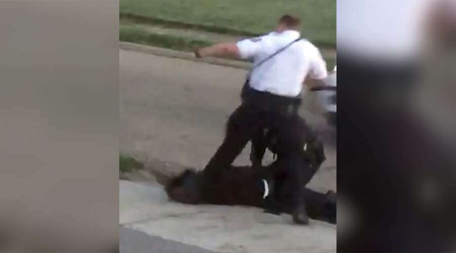 Ohio officer who kicked handcuffed man in head should be suspended for 24hrs – police chief