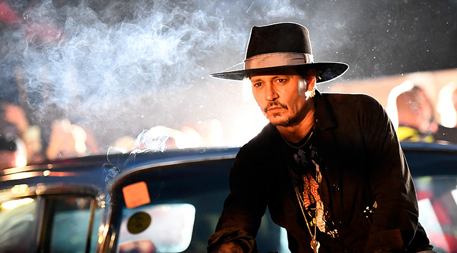 Johnny Depp joins growing list of stars to suggest Trump assassination (VIDEO)