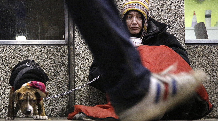 Homelessness almost doubled in England since Tories took power in 2010