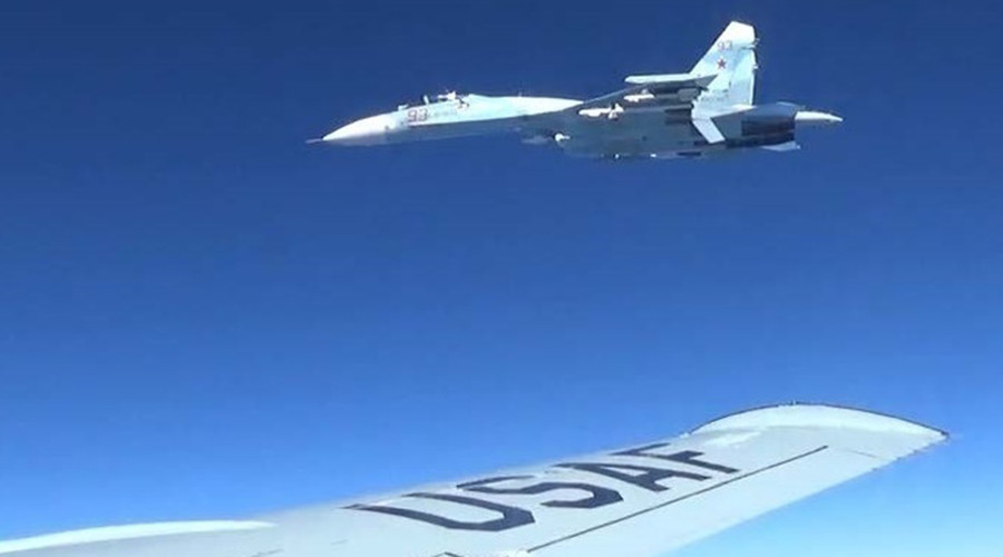 US releases photos showing 'unsafe' intercept by Russian jet over Baltic