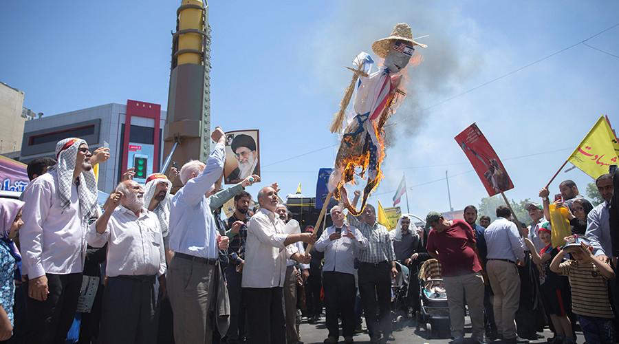Iran holds annual anti-Israel rallies, displays missiles