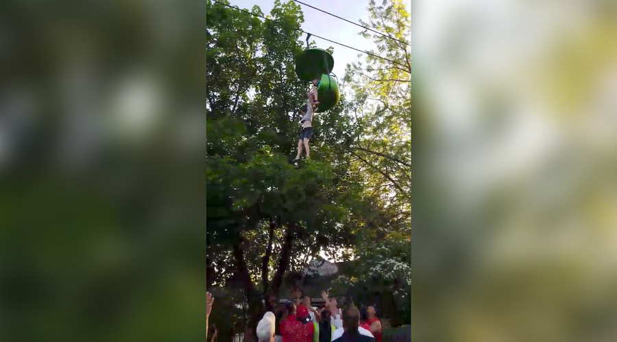 Teen falls from Six Flags ride