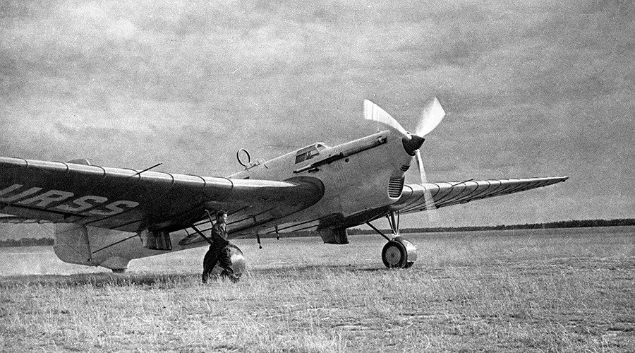US city celebrates 80th anniversary of first ever (63 hour!) transarctic flight by Soviet ace