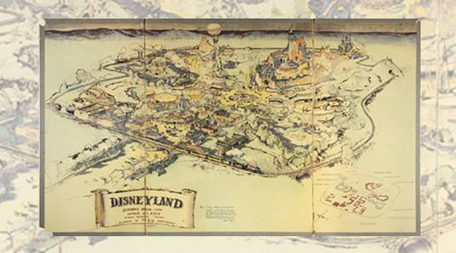 Original map of Disneyland sold for $708,000