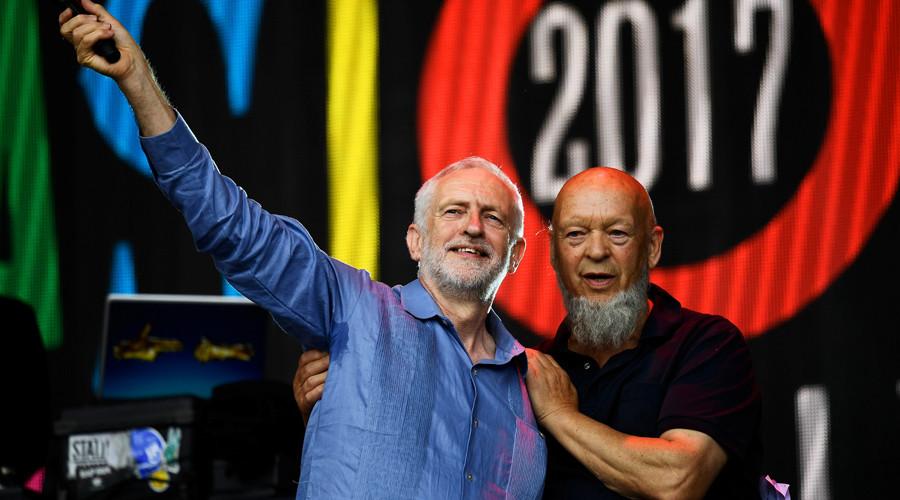 Jeremy Corbyn told Glastonbury Festival founder he'll 'scrap Trident nuclear weapons'