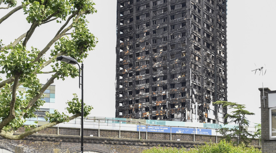 Housing minister denies Grenfell Tower 'cover-up' in car crash interview