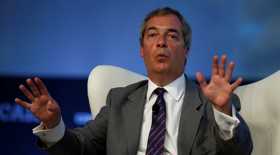 Nigel Farage accused of hypocrisy after claiming Jeremy Corbyn gets too much airtime
