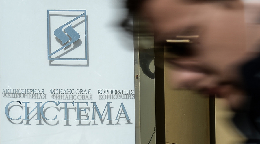 Russian court freezes assets of Sistema conglomerate over Rosneft row