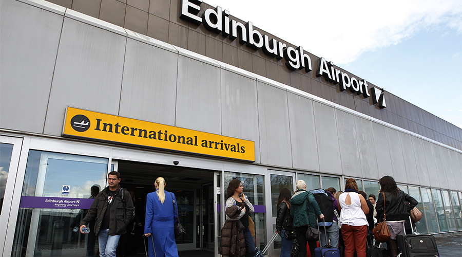 Edinburgh Airport passengers face delays after power cut at terminal