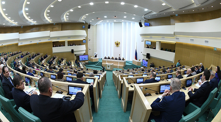 Senators propose 'black book' on foreign meddling in Russian politics