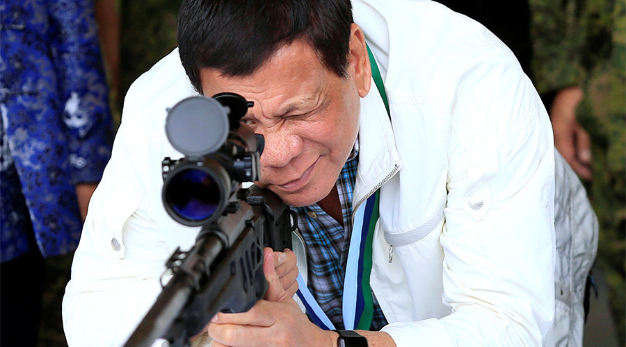 'Duty of civilians to flee': Duterte tells troops not to worry about collateral damage