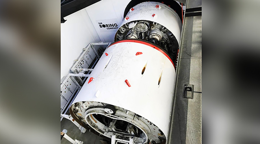 Elon Musk's Boring Machine Completes The First Section Of An LA Tunnel