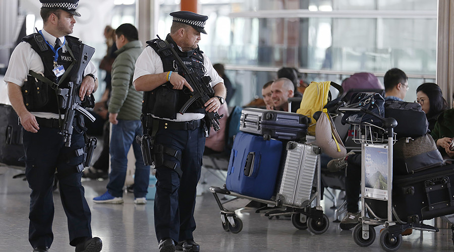 Woman suspected of plotting terrorist attack arrested after landing in London's Heathrow airport
