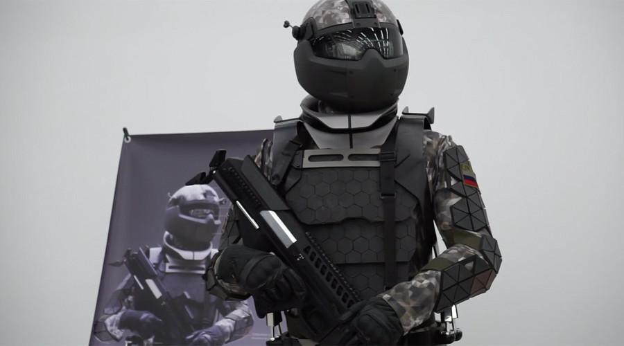 Russian military lab unveils prototype of Star Wars-like combat suit (VIDEO)