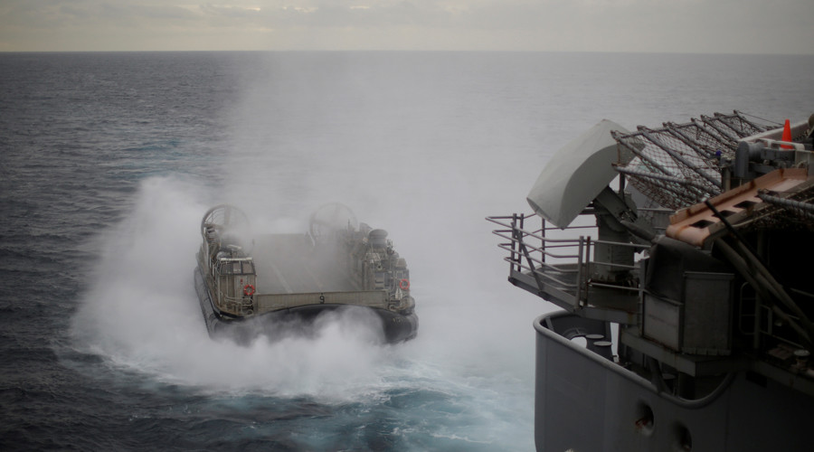 Saber-rattling: Naval drills, sanctions & weapon sales revive US tensions with China