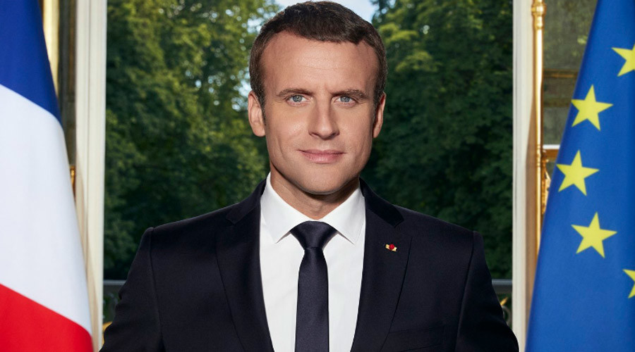 Macron's presidential portrait proves less popular than picture of rival's kebab