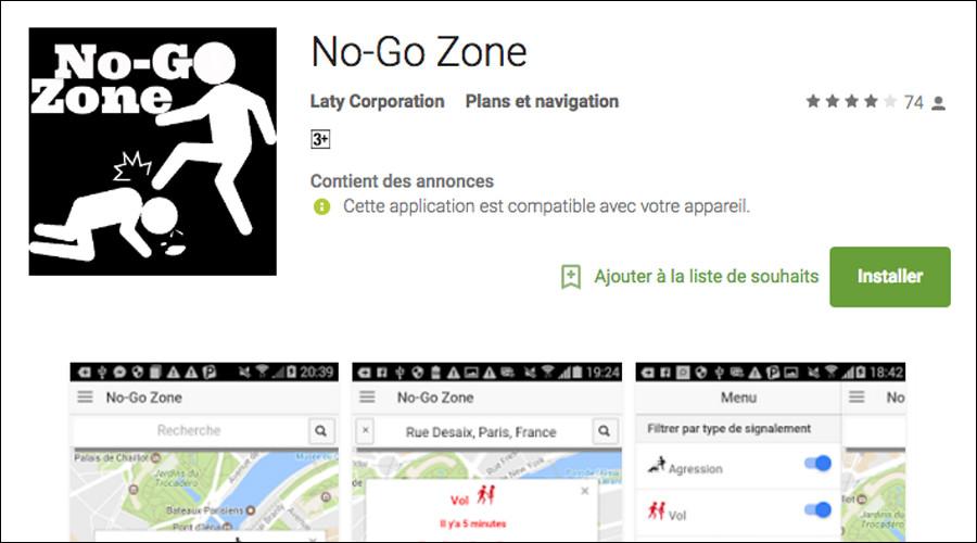 'No-Go Zone' app allows Parisians to report & locate aggression, other crimes