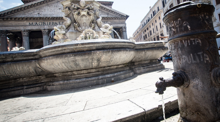 Rome fountains run dry as heat wave sparks 'exceptional' drought across Italy