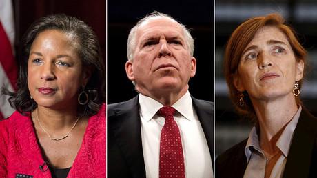 Susan Rice, John Brennan, Samantha Power © Reuters
