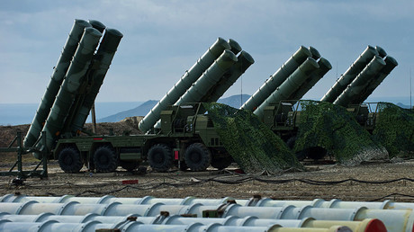 Anti-aircraft defense system S-400 Triumph of an air defense © Sergey Malgavko
