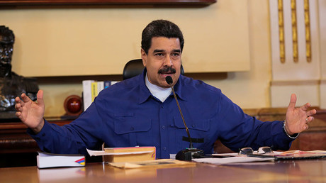 Venezuela dares US to 'send in marines' amid crisis, threatens 'crushing response'