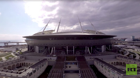 2017 FIFA Confederations Cup: Saint Petersburg Stadium in 360
