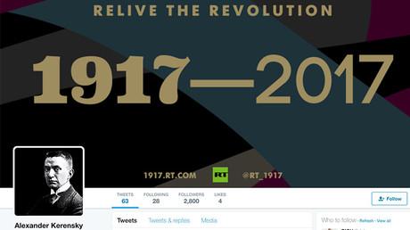 #1917LIVE: War Minister Alexander Kerensky talks duty & freedom in Twitter Q&A