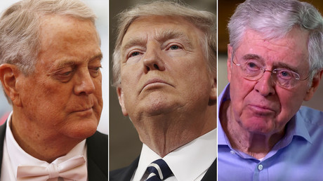 Billionaire Koch brothers lurk behind Trump Paris deal pull-out, but endgame is murky