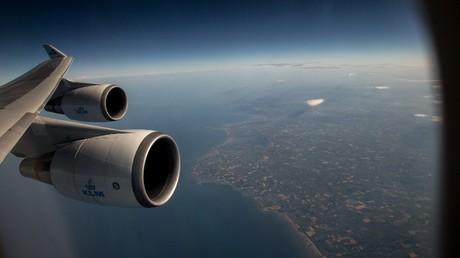 9 injured, passengers thrown against ceiling, as KLM plane hits turbulence near Hong Kong airport