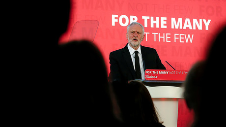 British opposition leader and Labour Party candidate, Jeremy Corbyn © Andrew Yates