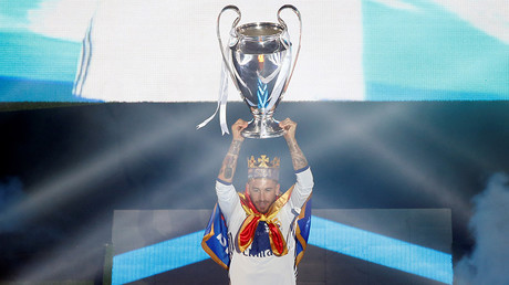 Fans & players celebrate Real Madrid's 12th European Cup title
