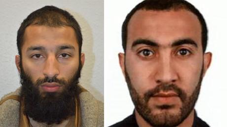 Khuram Shazad Butt (left) and Rachid Redouane (right) @metpoliceuk