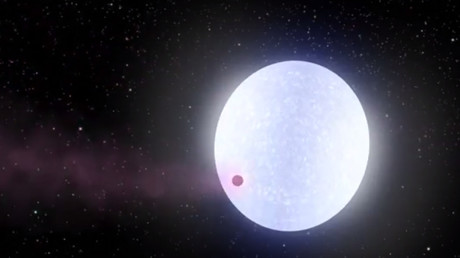 Newly-discovered extremely hot planet may have comet-like tail – study