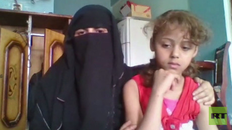 Nasrine, mother of 10-year-old Mlak, saved from being married off for money, speaks to RT.