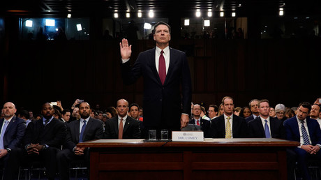 'Like feeding seagulls at the beach': Ex-FBI chief calls media flying rats in testimony